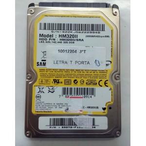 HD NOTEBOOK  320GB SATA SAMSUNG HM320II