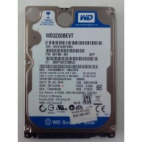 HD NOTEBOOK 320GB SATA WD WD3200BEVT