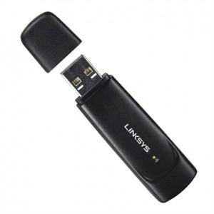 ADAPTADOR USB WIRELESS-G Linksys WUSB54GC-LA